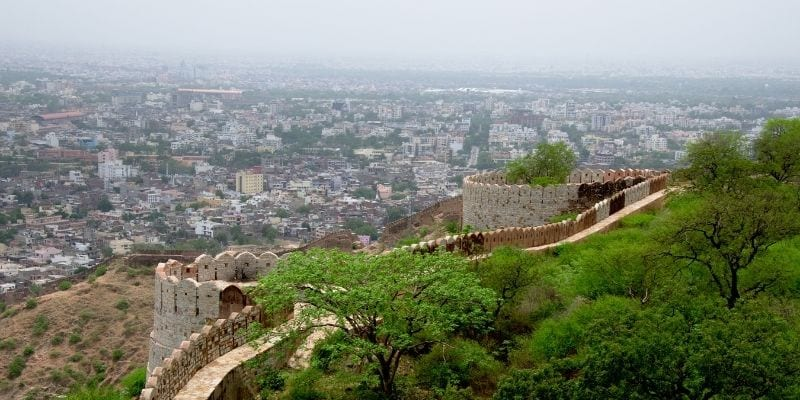 Nahargarh Fort - amazing place to visit in Jaipur