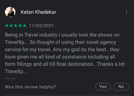 travelxp app play store rating